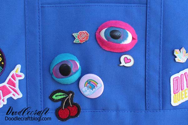 Resin eyes are definitely useful when making dolls, monsters, puppets, dragons or third-eye wearables and bag flair.  Regardless of the final destination, resin eyes are a great resin craft for any experience level.