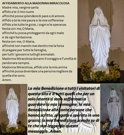 Amato La Madonna Miracolosa: CHIEDI UNA GRAZIA ALLA MADONNA MIRACOLOSA AB71
