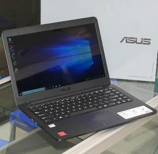 Laptop ASUS E402W Second Fullset di Malang