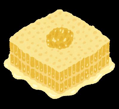 巣蜜のイラスト
