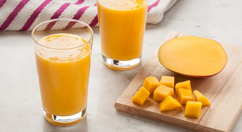 Method of action of smoothie Mango and Apple