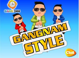Game thời trang gangnam style vui nhộn nhất