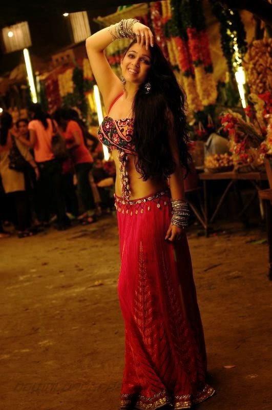 Actress Hot Images Charmi Kaur Sexy Deep Navel-8681