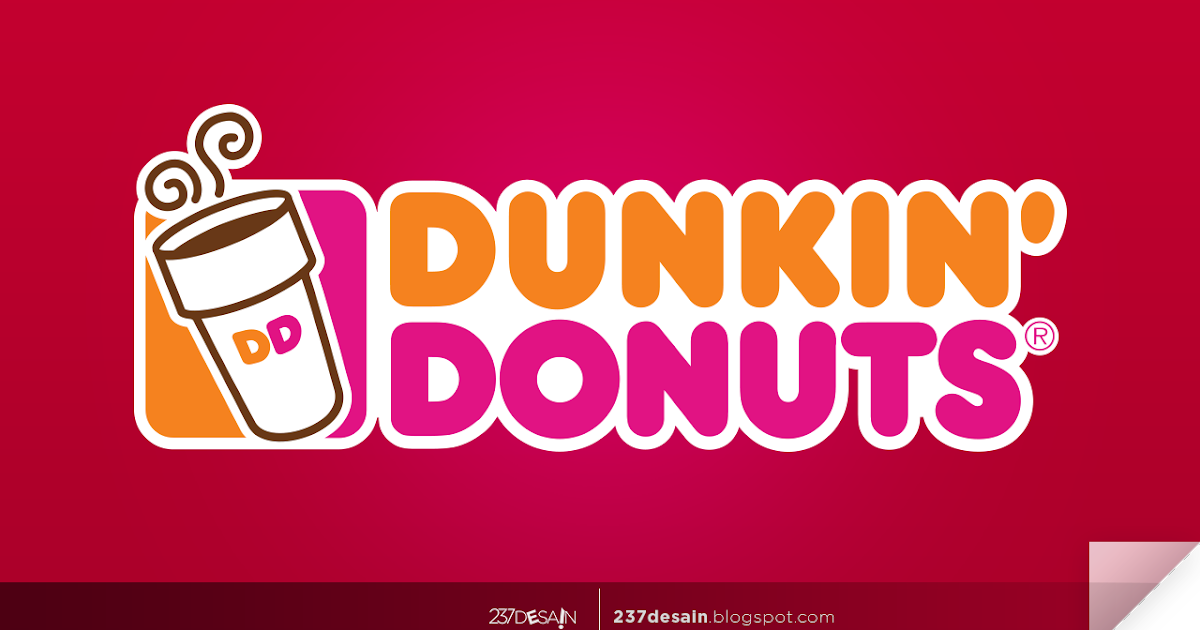Hasil gambar untuk dunkin' donuts logo