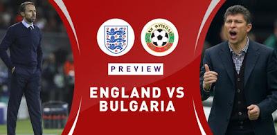 مشاهدة مباراة انجلترا وبلغاريا بث مباشر اليوم 7-9-2019 في تصفيات اليورو 2020