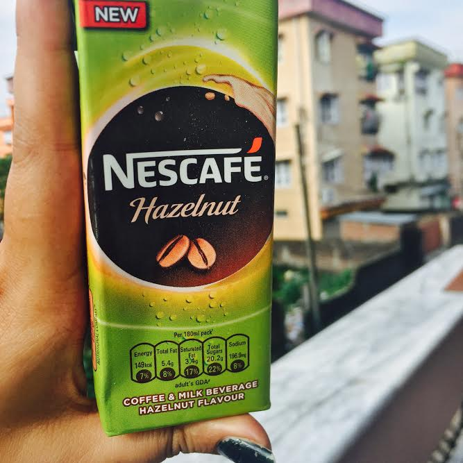 My Plate Review: The New Ready-to-drink Nescafe Chilled