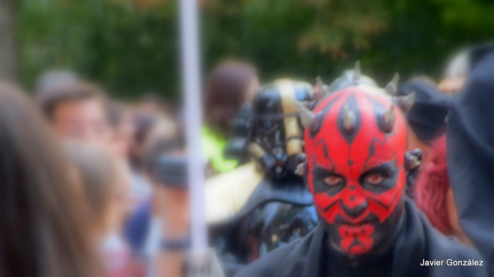 Las tropas de Darth Vader de Star Wars invaden Madrid.