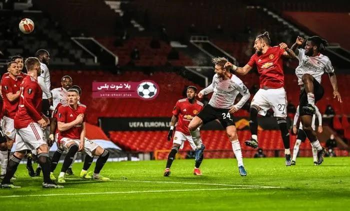 موعد مباراة مانشستر يونايتد وغرناضه ذهاب ربع نهائي الدوري الاوروبي