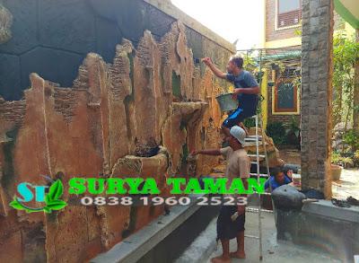 Tukang relief tebing di curug tangerang - www.suryataman.com