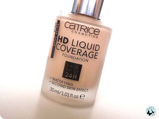 Podkład HD Liquid Coverage Foundation od Catrice