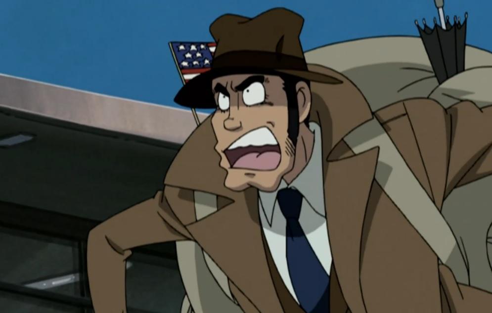 Detective Zenigata of Lupin III