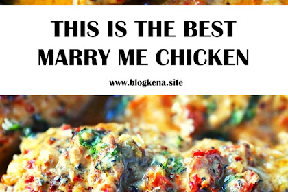 THIS IS THE BEST MARRY ME CHICKEN