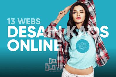 Update 13 Website untuk Kreasi Desain Kaos secara Online