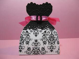 Bellas Cajas con Forma de Vestido para Souvenires, Recuerdos, Sorpresas o Dulceros. Paso a Paso con Plantilla.