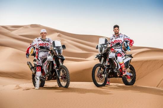 J-Rod & CSS on HERO Dakar Bikes