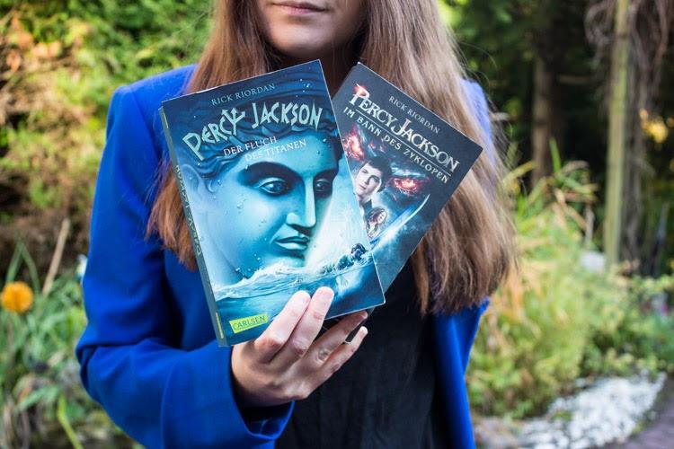 Percy Jackson Buchrezension, Percy Jackson Reihe, Percy Jackson Rick Riordan, 5 Gründe Percy Jackson