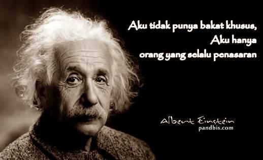 Belajar kunci sukses dari Albert Einstein