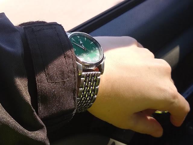 Straps Co Beads of Rice Bracelet Seiko Railmaster Mod