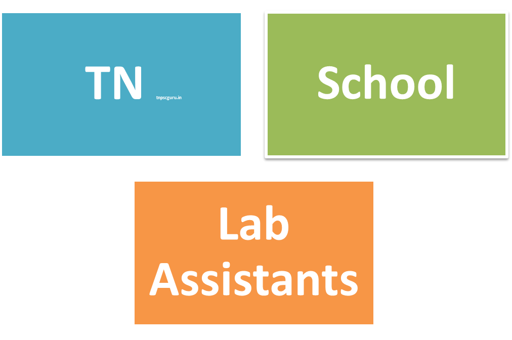 Tamil nadu Lab Assistant in Schools REcruitment