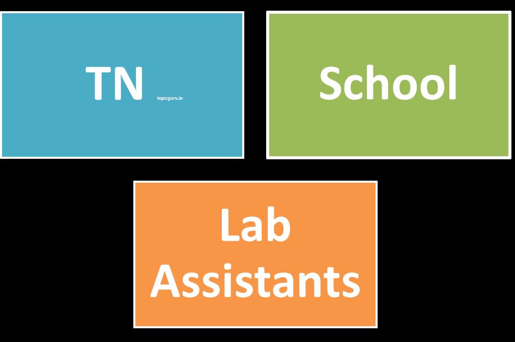 Tamil nadu Lab Assistant in Schools REcruitment