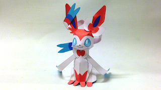 eevee evolution 3d paper