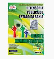 Apostila Defensoria Pública/BA para Agente administrativo DPE BA 2014.