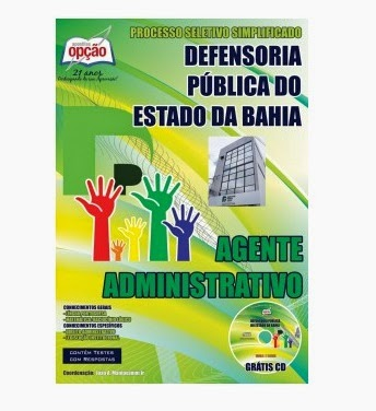 Apostila Defensoria Pública do Estado da Bahia / DPE BA