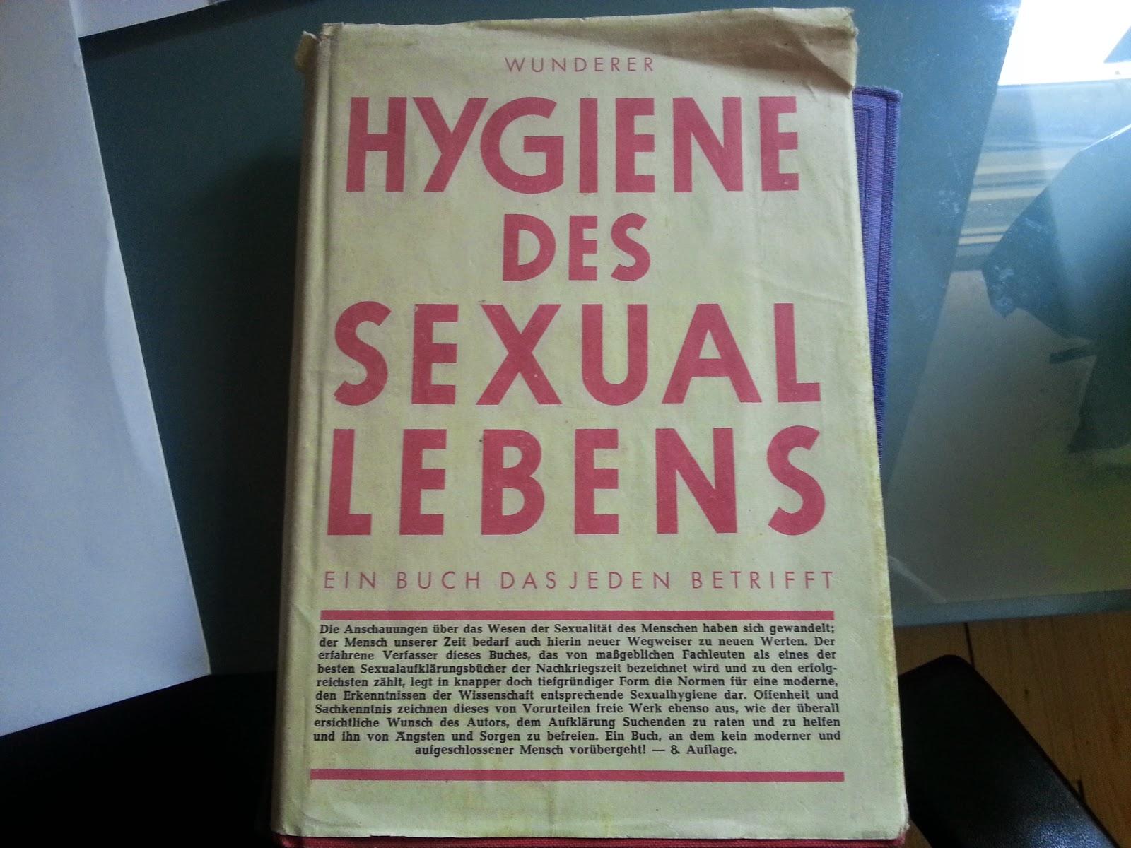 Titel Hygiene des Sexuallebens