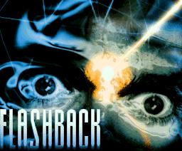 Pantalla de título de DOS Flashback