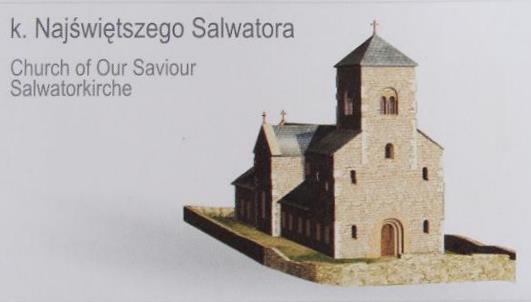 Romański kościół Najświętszego Salwatora w Krakowie - wirtualna rekonstrukcja