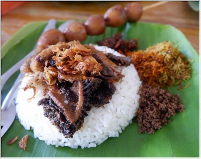 Nasi Krawu Bu Tiban;10 Top Kuliner Gresik;