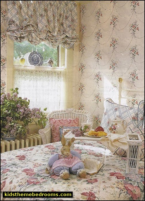 victorian floral garden girls bedroom decorating ideas victorian cottage style bedrooms - victorian walls victorian wallpaper victorian rose wallpaper victorian flower wallpaper