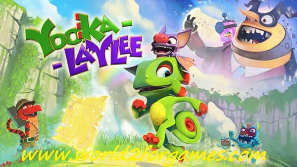 "Free Download Yooka-Laylee and the Impossible Lair  ""FitGirl Repack"""