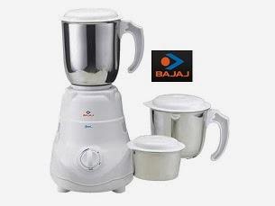 Deep Discount Offer on Bajaj Mixer Grinders: Bajaj Bravo 3 Jar Mixer Grinder worth Rs.3190 for Rs.1505 Only