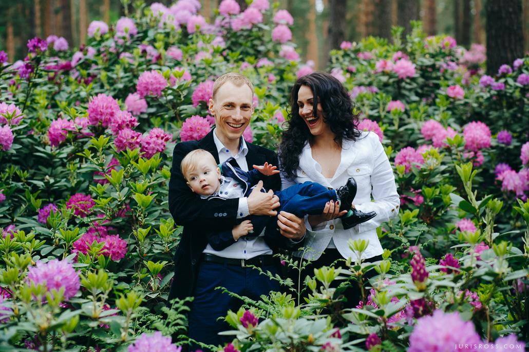 ģimenes lifestyle fotosesija