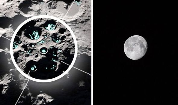 Water found on moon