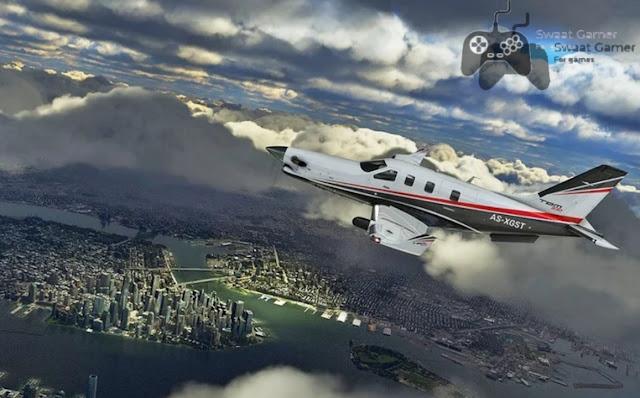 تحميل لعبة microsoft flight simulator مجانا