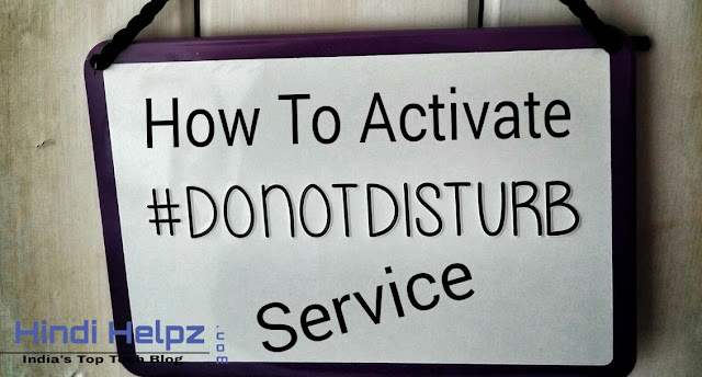 How to activate Do Not Disturb