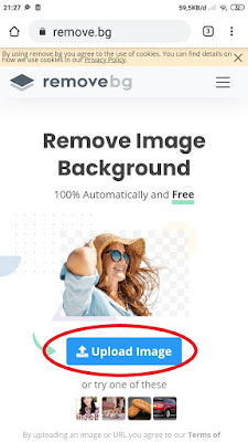 Cara Edit Background Foto di HP Secara Online
