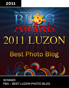 Philippine Blog Awards Best Photo Blog 2011 Winner
