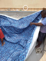 Cómo construir una piscina de material