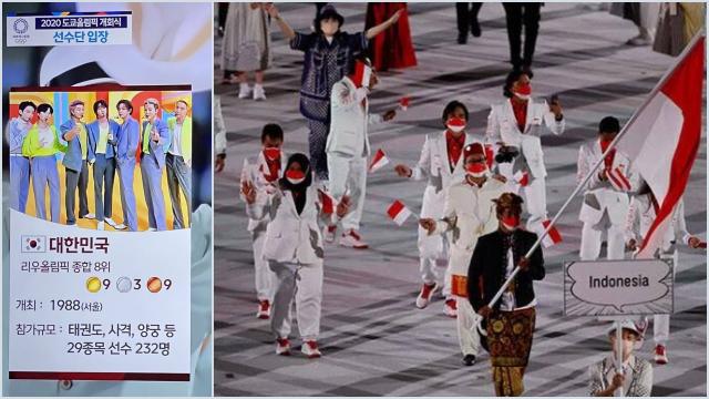 Banggakan BTS, Indonesia DIolok-olok, Tayangan TV Korsel di Olimpiade Tokyo Bikin Warganet Geram