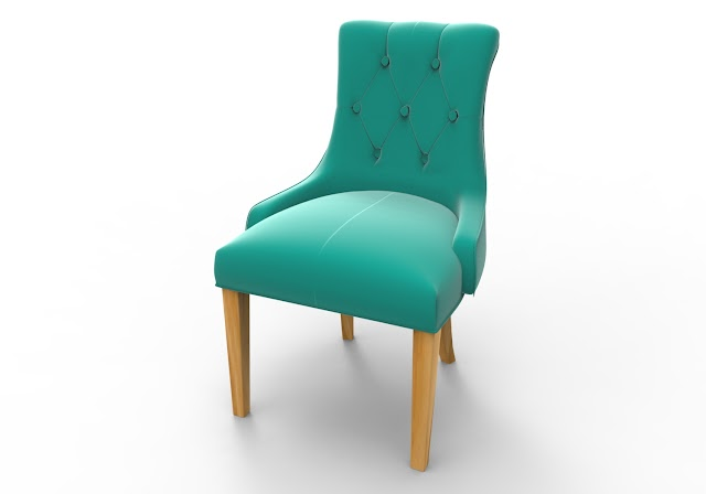 Sofa Chair 3D Model Free Download Maya,Obj,Low Poly