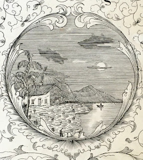 Detail from title page of Old Kentucky Home