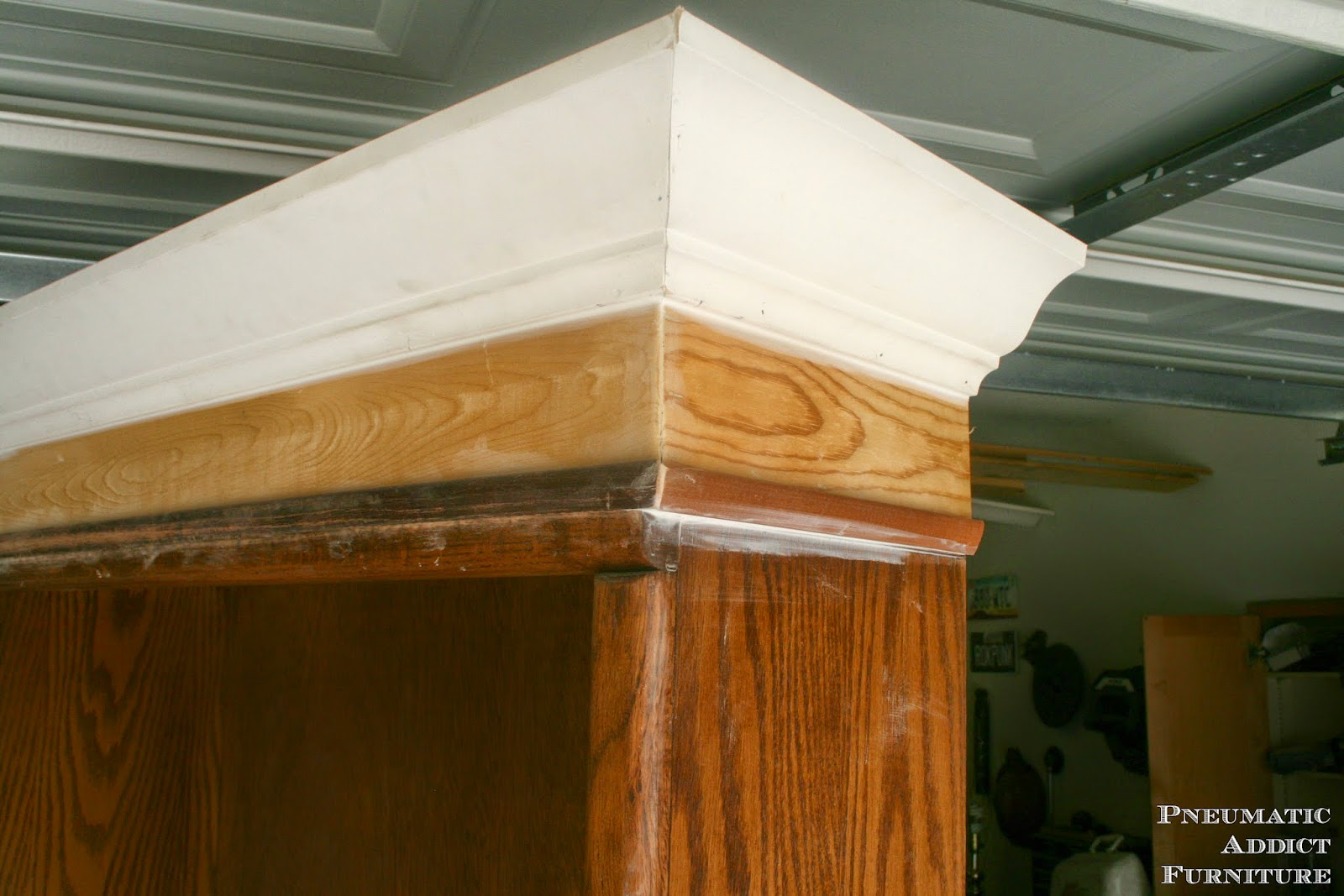 Remember On A Bookshelf You Can Just Cut The Crown Square Back Of Sides And Leave Bare Its Going To Be Up Against Wall