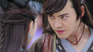 William Chan and Zanilia Zhao Li Ying Legend of Zu Episode 1 Stills