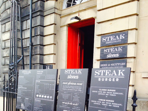 Eating Edinburgh: Steak on Stones