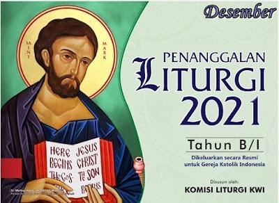 KALENDER LITURGI DESEMBER 2021