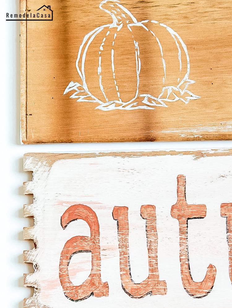 Autumn signs - Pumpkin seeds