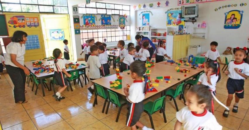 MINEDU evaluará desempeño en el aula a cerca de 17 mil docentes de educación inicial - www.minedu.gob.pe